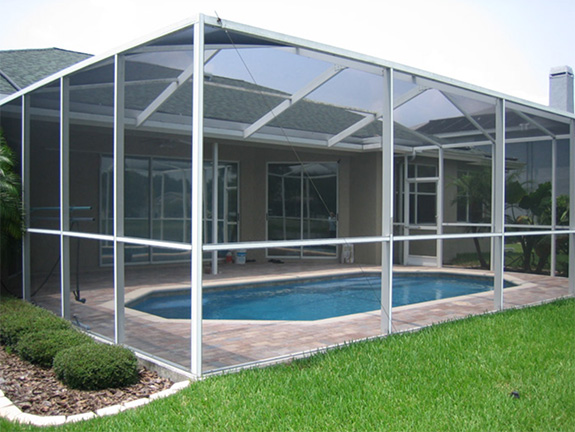 At Five Star Pool, We Can Build You A Durable Screen Enclosure For Your  Pool, Patio Or Deck.
